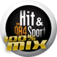 Logo de la radio Hit et Sport : 100% Mix