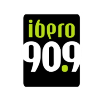 Logo of radio station XHUIA-FM IBERO 90.9