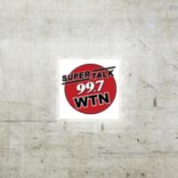 Logo of radio station WWTN