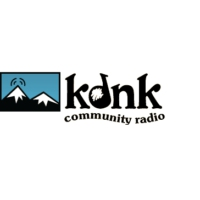 Logo of radio station KDNK NPR