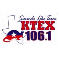 Logo of radio station KTTX 106.1 FM