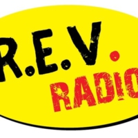 Logo of radio station R.E.V - radio