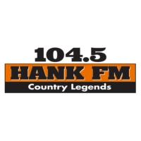 Logo of radio station KNHK-FM 104.5 Hank FM
