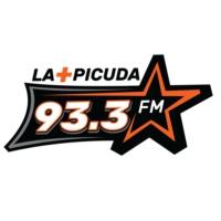 Logo of radio station XHEVE La Más Picuda 93.3 fm