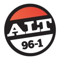 Logo of radio station KFOO-FM Alt 96.1