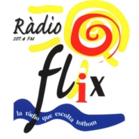 Logo of radio station Ràdio Flix