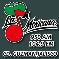 Logo of radio station La Mexicana 950 AM