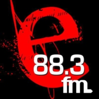 Logo of radio station E FM 88.3