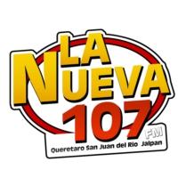 Logo of radio station LA NUEVA 107 RADIO
