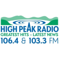 Logo of radio station High Peak Radio