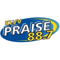 Logo of radio station KLVV Praise 88.7 FM
