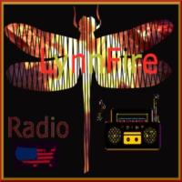 Logo of radio station LynnFire Radio