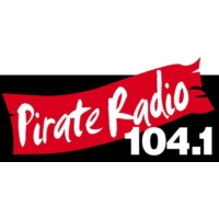 Logo of radio station KBOX Pirate Radio 104.1