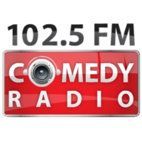 Logo of radio station Comedy Radio
