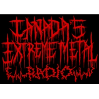 Logo of radio station Canada's Extreme Metal Radio
