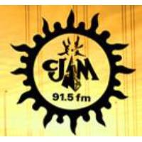 Logo of radio station CJAM 91.5 FM