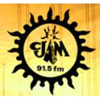 Logo of radio station CJAM 91.5 FM