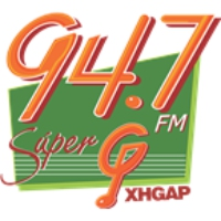 Logo of radio station XHGAP Super G