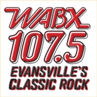 Logo of radio station 107.5 WABX