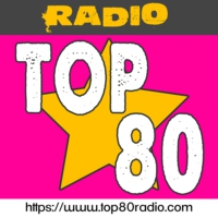 Logo of radio station TOP 80 radio