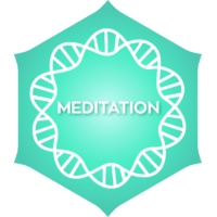 Logo of radio station Positivity Meditation