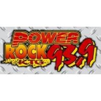 Logo of radio station WKTG Power Rock 93.9 FM