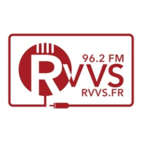 Logo of radio station RVVS 96.2 FM
