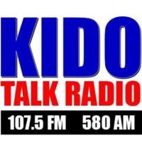 Logo of radio station KIDO Talk Radio 580 AM