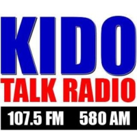 Logo of radio station KIDO Talk Radio 580 AM