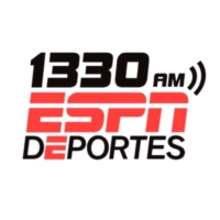 Logo of radio station KWKW ESPN 1330 Deportes