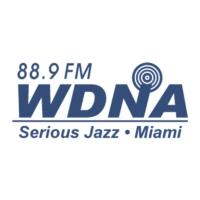 Logo of radio station WDNA 88.9 FM