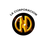 Logo of radio station La Corporacion