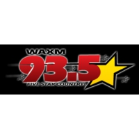 Logo of radio station WAXM 93.5 FM