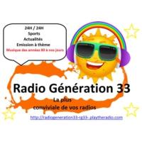 Logo de la radio Radio Génération 33