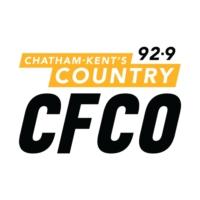 Logo of radio station CFCO-FM Country 92.9