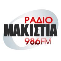 Logo of radio station Ράδιο Μακιστία 98.6