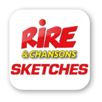 Logo of radio station Rire et Chansons Sketches