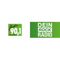 Logo of radio station Radio 90.1 – Dein Rock Radio