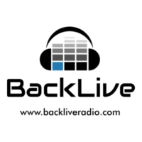 Logo of radio station BackLive
