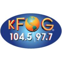 Logo of radio station KFOG 97.7