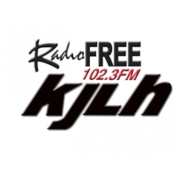 Logo of radio station KJLH Radio Free