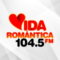 Logo of radio station XHDRD Vida Romántica 104.5 FM