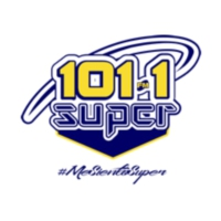 Logo of radio station XHAT-FM Súper 101.1