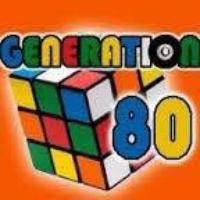 Logo of radio station Génération 80