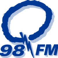 Logo of radio station Q98