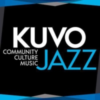 Logo of radio station KUVO Jazz