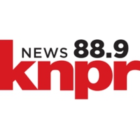 Logo of radio station News 88.9 KNPR