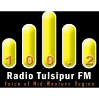 Logo of radio station Radio Tulsipur FM 100.2 MHz