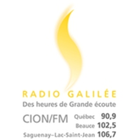 Logo of radio station Radio Galilée