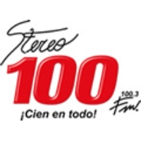 Logo of radio station Stereo 100